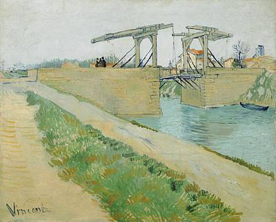 Painting - The Langlois Bridge by Artistic Panda