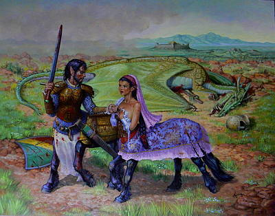 Kerry Nelson Painting - The Last Abduction by Kerry Nelson