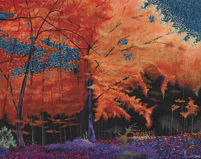 Wall Art - Painting - The Last Autumn by Hayley Buchanan