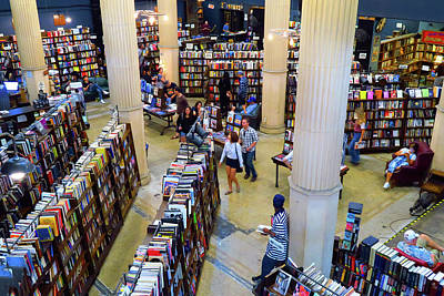 Photograph - The Last Bookstore - Independent Bookstore In Los Angeles by Ram Vasudev