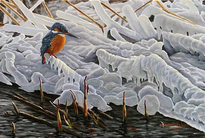 Painting - The Last Burst Of Winter by Valentin Katrandzhiev