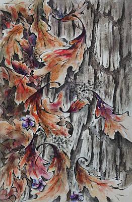 Hallucination Painting - The Last Dance by Rachel Christine Nowicki