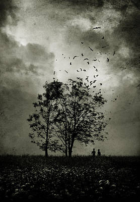 Eerie Photograph - The Last Day by Cambion Art
