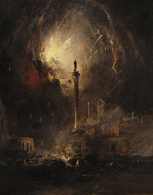 Day Painting - The Last Days Of Pompeii by MotionAge Designs