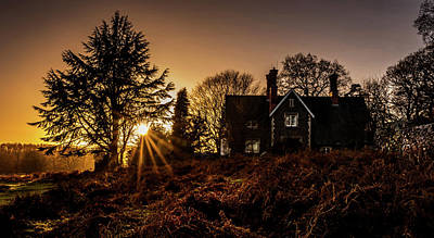 Photograph - The Last Glow by Nick Bywater