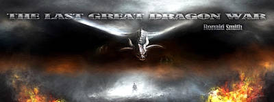 The Last Great Dragon War Art Print by Peter Chilelli