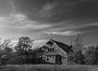 Photograph - The Last House by Christopher McKenzie