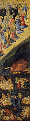 Judgment Day Painting - The Last Judgement, Right Wing by Fra Angelico