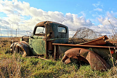 Photograph - The Last Load by Bonfire Photography