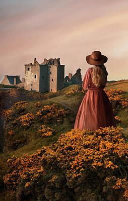 Photograph - The Last Look At Scotland by Jaroslaw Blaminsky