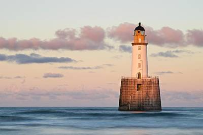 Photograph - The Last Of The Light At Rattray Head by Stephen Taylor