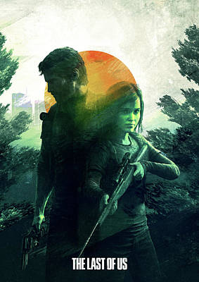 Digital Art - The Last Of Us  by IamLoudness Studio