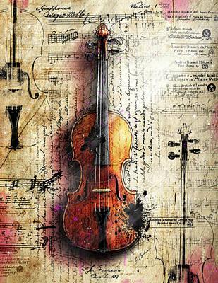 Digital Art - The Last Symphony by Gary Bodnar