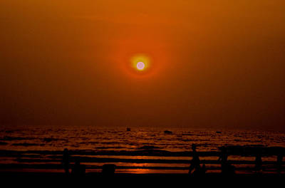 Photograph - The Last Rays by Sher Nasser