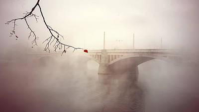 The Last Red Leaf Art Print by Jaroslaw Blaminsky