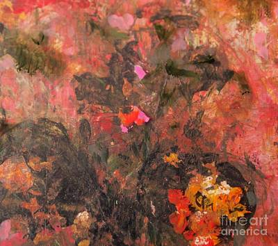 Painting - The Last Rose by Nancy Kane Chapman