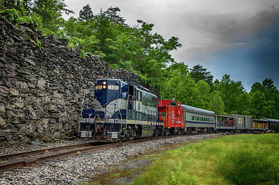 Wall Art - Photograph - The Last Run Of The Rfp 101 by Cliff Middlebrook