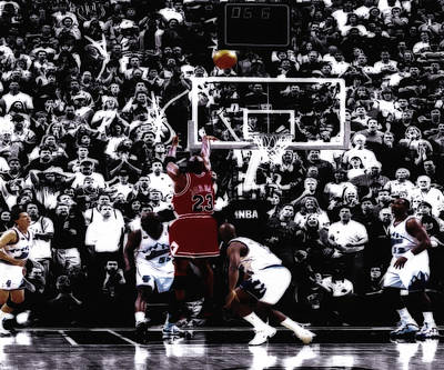 John Stockton Digital Art - The Last Shot 5 by Brian Reaves