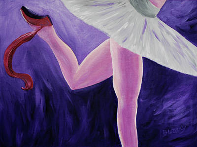 Painting - The Last Slipper by Donna Blackhall