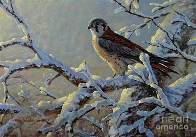 Painting - The Last Snow by Valentin Katrandzhiev