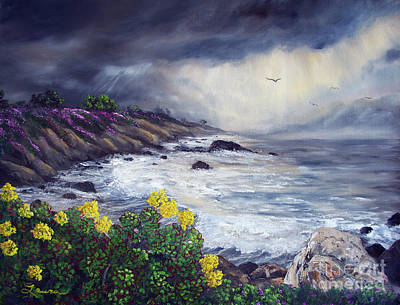 Painting - The Last Storm by Laura Iverson