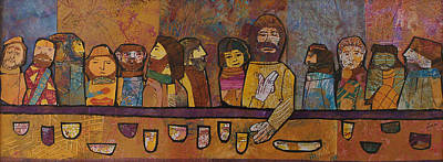 Carol Cole Painting - The Last Supper 1 by Carol Cole
