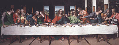 Painting - The Last Supper by Giampietrino