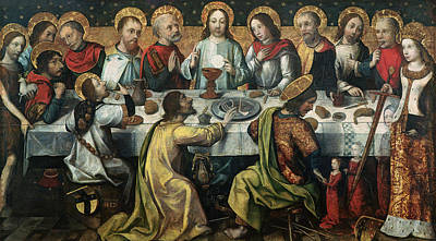 Communion Painting - The Last Supper by Godefroy