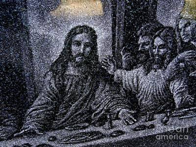 Photograph - The Last Supper In Stone by Ed Weidman