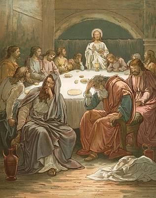 The Last Supper Art Print by John Lawson