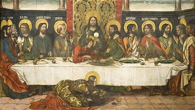 Bible Painting - The Last Supper by Celestial Images