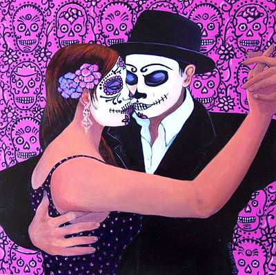 Painting - The Last Tango by Susan Santiago