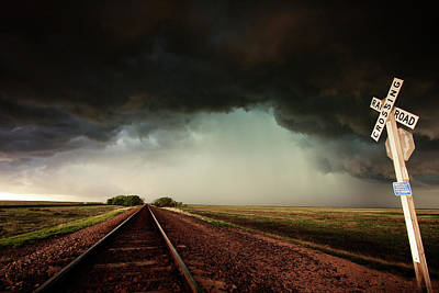Photograph - The Last Train To Darksville by Brian Gustafson