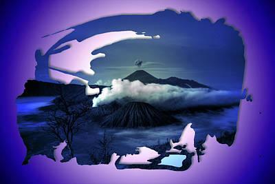 Manipulation Photograph - The Last Volcano by Mario Carini