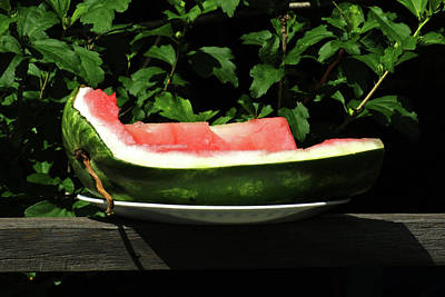 Photograph - The Last Watermelon by Margie Avellino