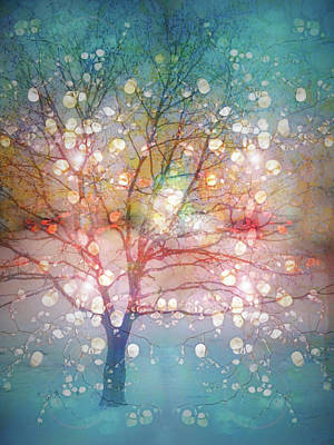Digital Art - The Last Winter Light by Tara Turner