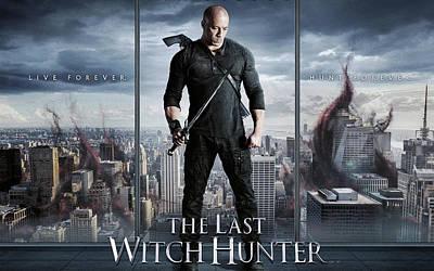 The Last Witch Hunter Vin Diesel Art Print