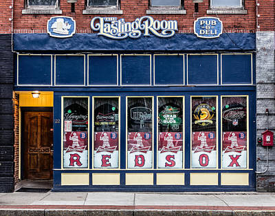 The Lasting Room - Haverhill Red Sox Pride Original by Betty Denise