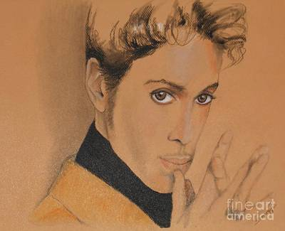 The Late Prince Rogers Nelson Art Print