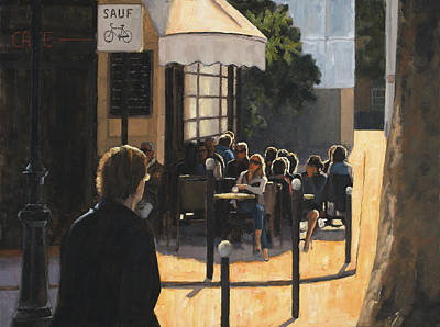 Painting - The Latin Quarter by Tate Hamilton