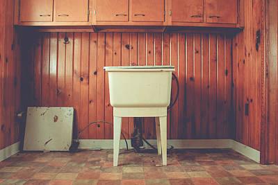 Photograph - The Laundry Room by Viviana  Nadowski