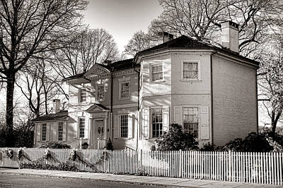 Fairmount Park Photograph - The Laurel Hill Mansion by Olivier Le Queinec