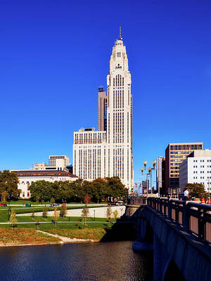 Photograph - The Laveque Tower - Columbus Ohio by L O C