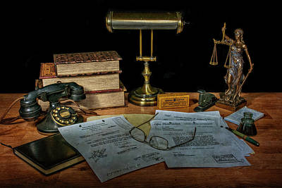 Photograph - The Law Office by Ken Smith