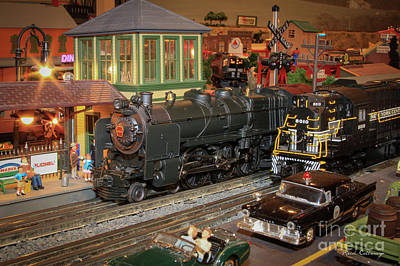 Photograph - The Layout.....by Reid Callaway Thomas Train Art by Reid Callaway