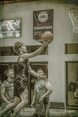 Photograph - The Layup by Ronald Santini