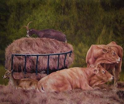 Painting - The Lazy 5 by Cherise Foster