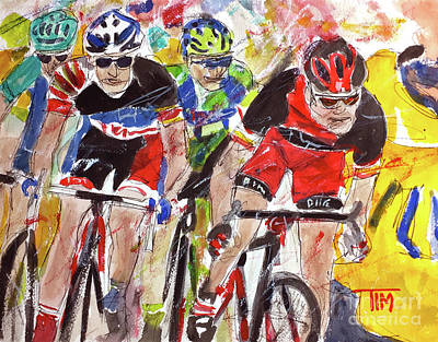 Painting - The Lead Out by Tim Ross