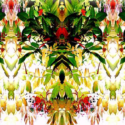 Photograph - The Leaf Fairy Queen 2 by Marianne Dow