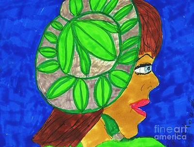 The Leaf Hat Original by Elinor Rakowski